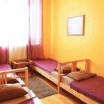 Номер для 4-х гостей в хостеле Artist Hostel на Бауманской