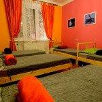 Номер для 5-ти гостей в хостеле Artist Hostel на Чистых Прудах в Москве